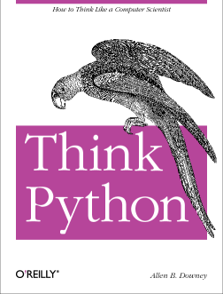 Cover of Think Python by Allen Downey